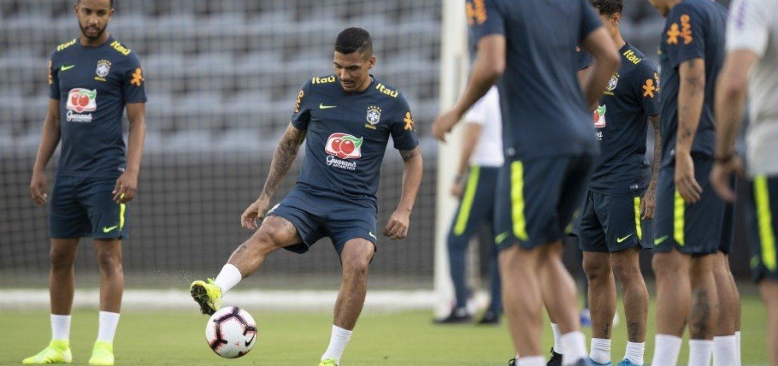 [Seleção brasileira enfrenta Peru em amistoso na madrugada desta quarta-feira]