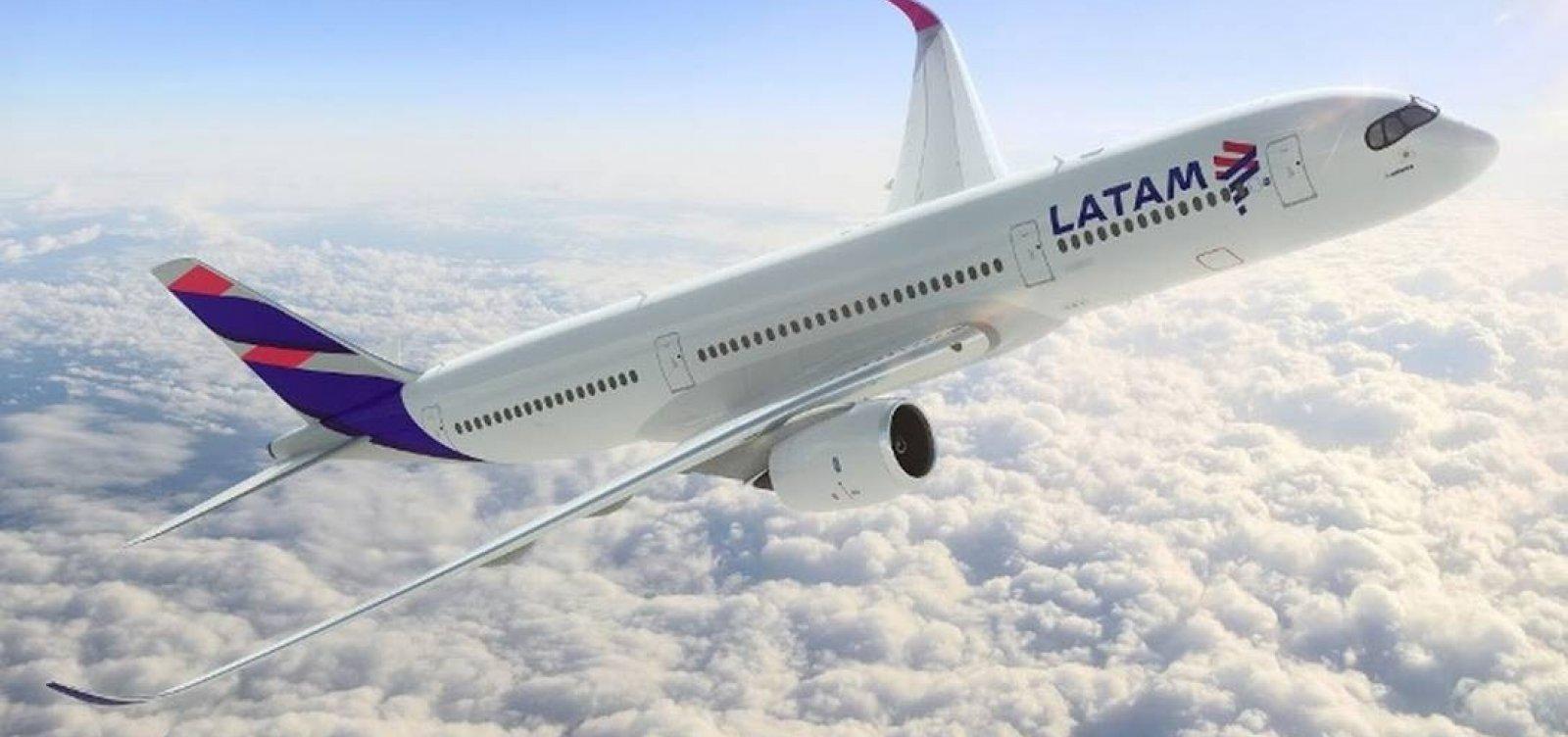 [Latam passa a ofertar 54 voos na Bahia]