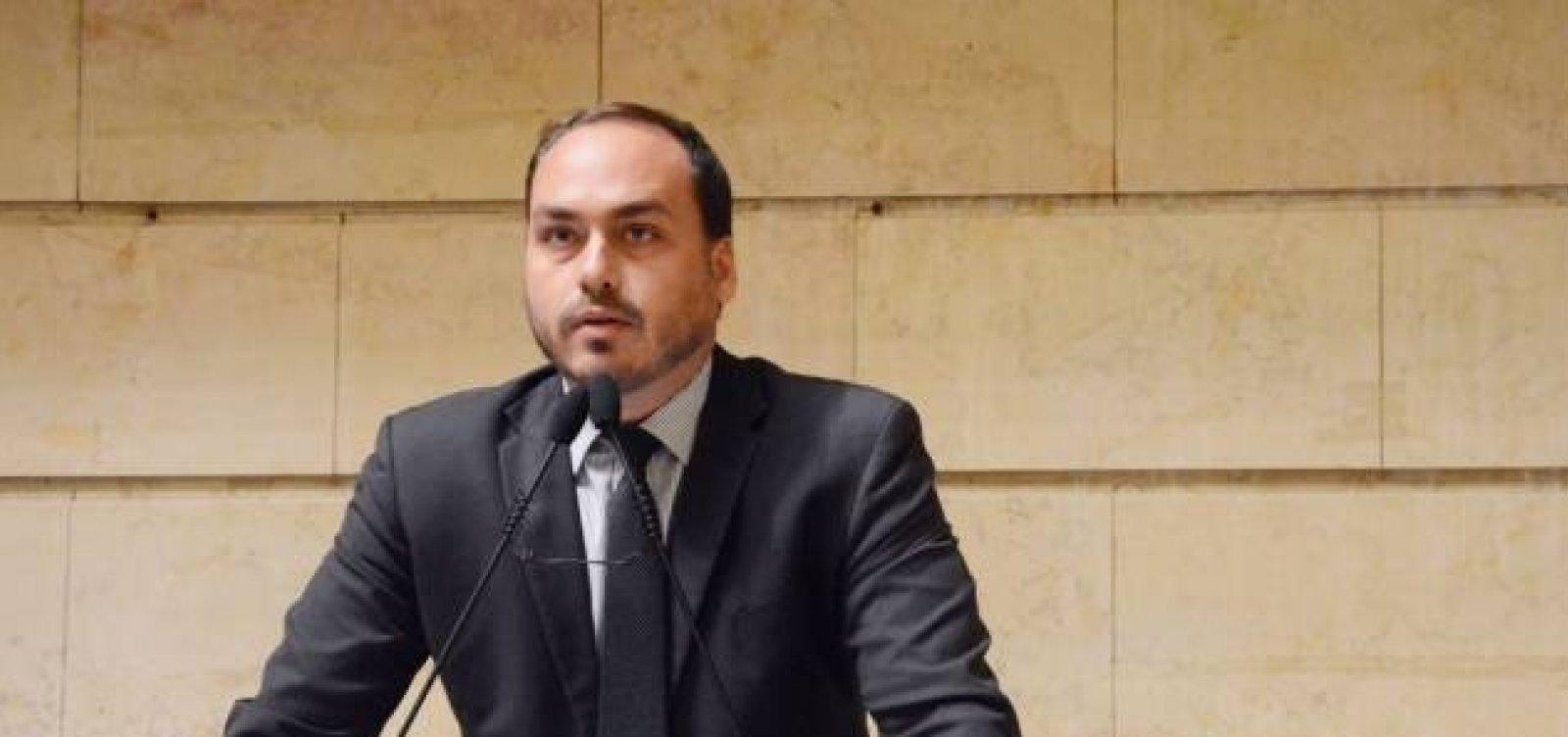 [MP-RJ investiga Carlos Bolsonaro por uso de funcionários fantasmas]