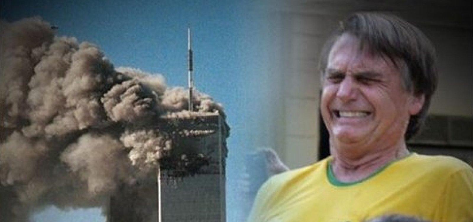 [PSL compara atentado às Torres Gêmeas a facada em Bolsonaro]