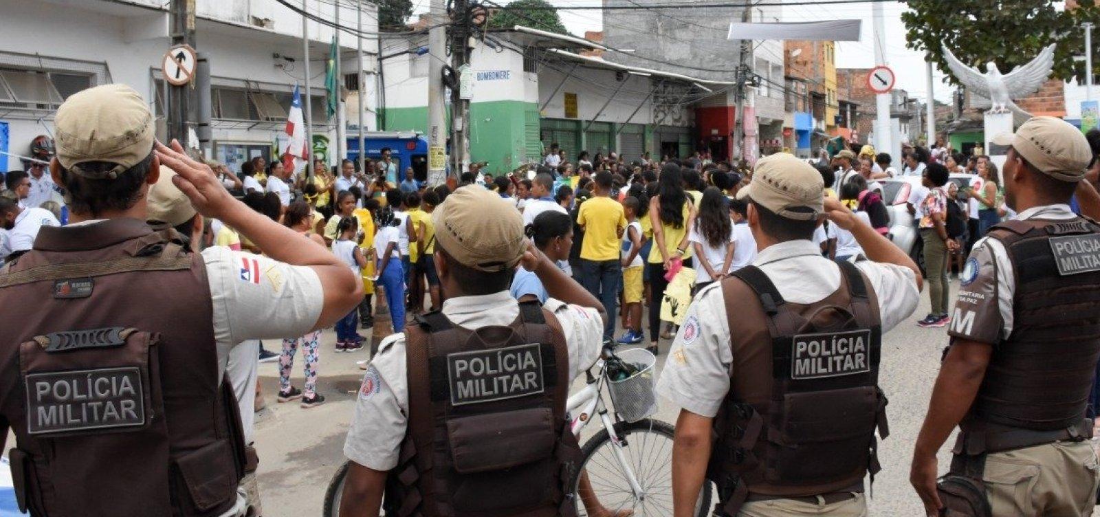 [Policiais estendem negociação com o governo e adiam greve]