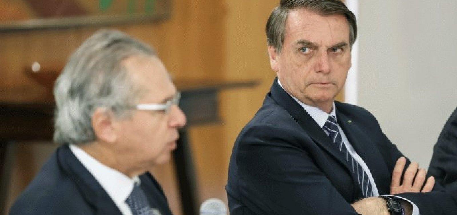 [Pelo Twitter, Bolsonaro descarta recriação da CPMF]