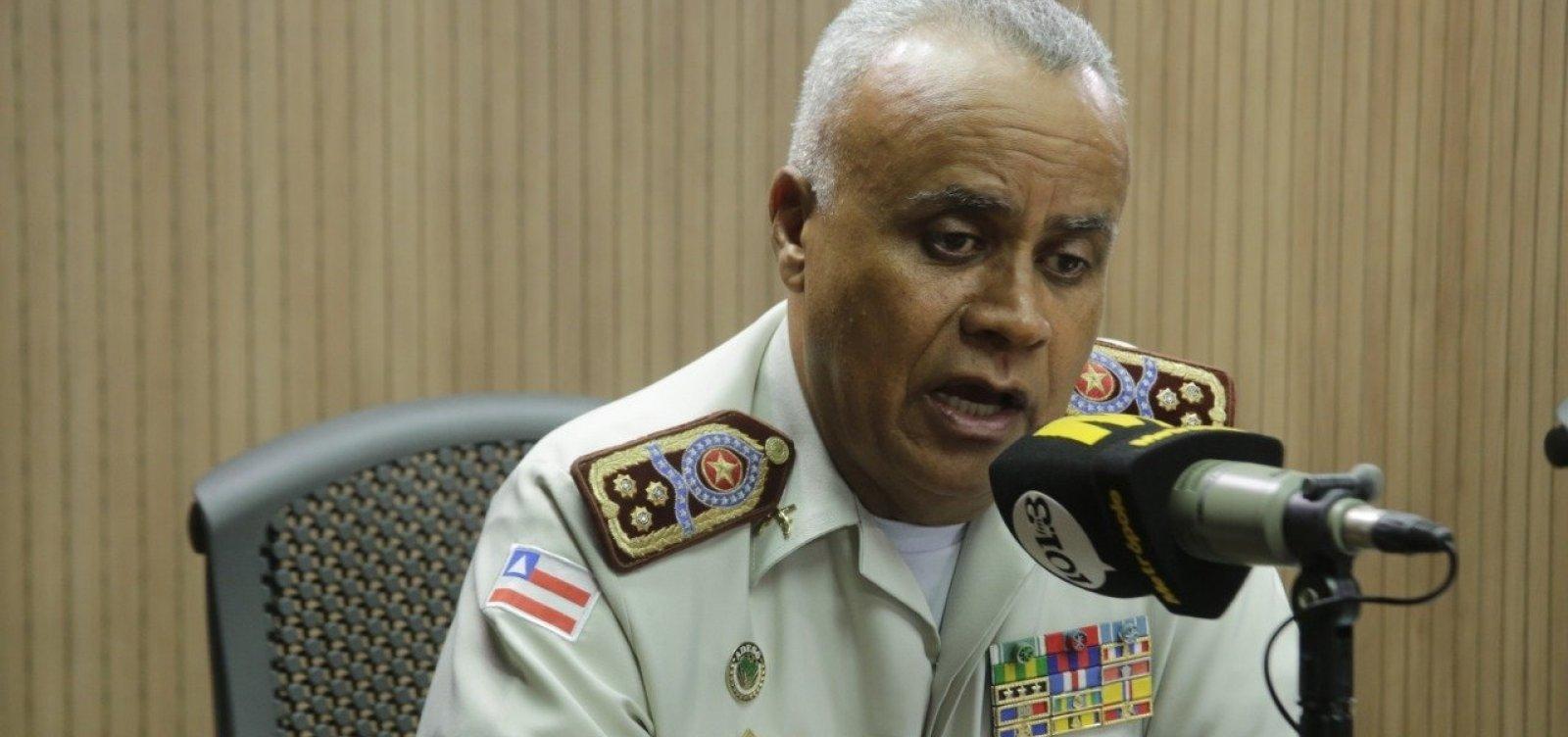 ['Nós temos diálogo', diz comandante geral da PM-BA após assembleia]