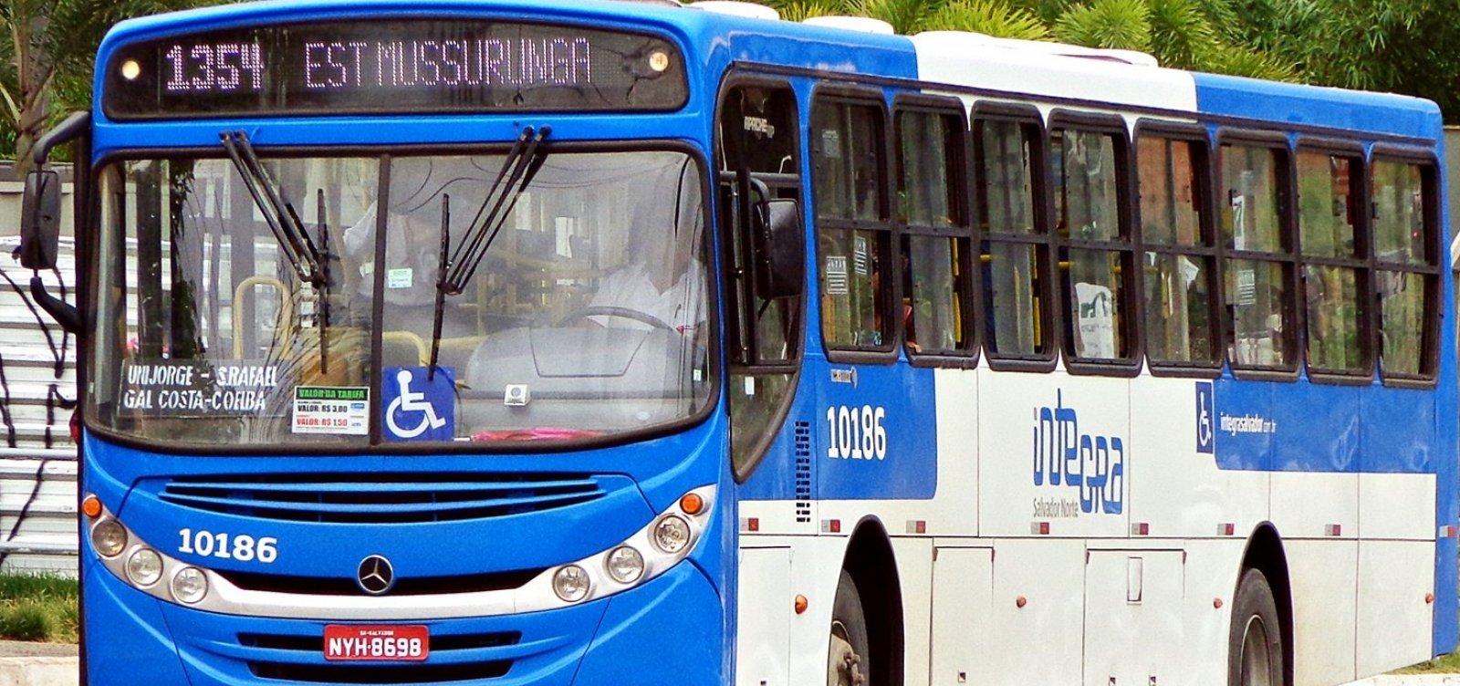 [Justiça apreende 20 ônibus do Consórcio Salvador Norte]