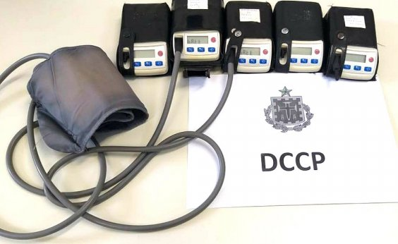 [Homem que furtou arma de PM confessa roubo de R$ 65 mil em equipamentos de hospital]
