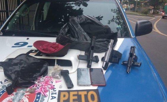 [Dois suspeitos morrem após confronto com policiais em Salvador]