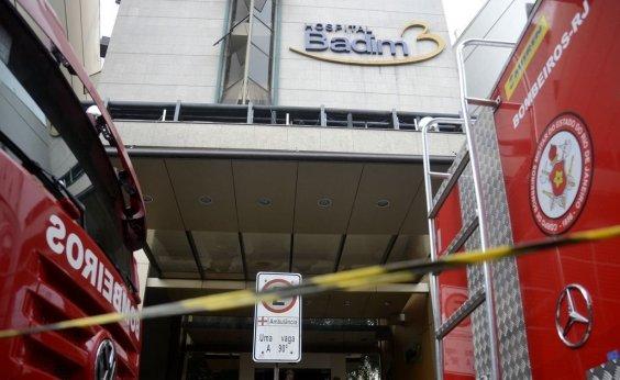 [Peritos retiram peças de gerador de hospital para apurar causa de incêndio no RJ]