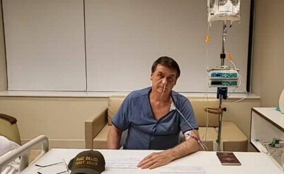 [Bolsonaro continua apresentando melhora após cirurgia, diz boletim]