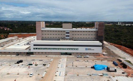 [Hospital Metropolitano, em Lauro de Freitas, já tem 90% das obras concluídas]