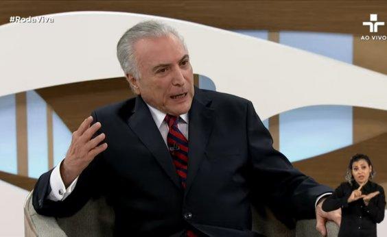 ['Jamais apoiei ou fiz empenho pelo golpe', diz Temer sobre impeachment de Dilma]