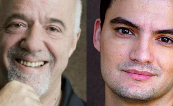 [Paulo Coelho manifesta apoio a Felipe Neto e aconselha: 'Não brinca com milicianos']