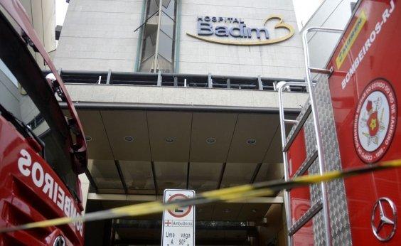 [Hospital Badim confirma 14ª morte após incêndio]