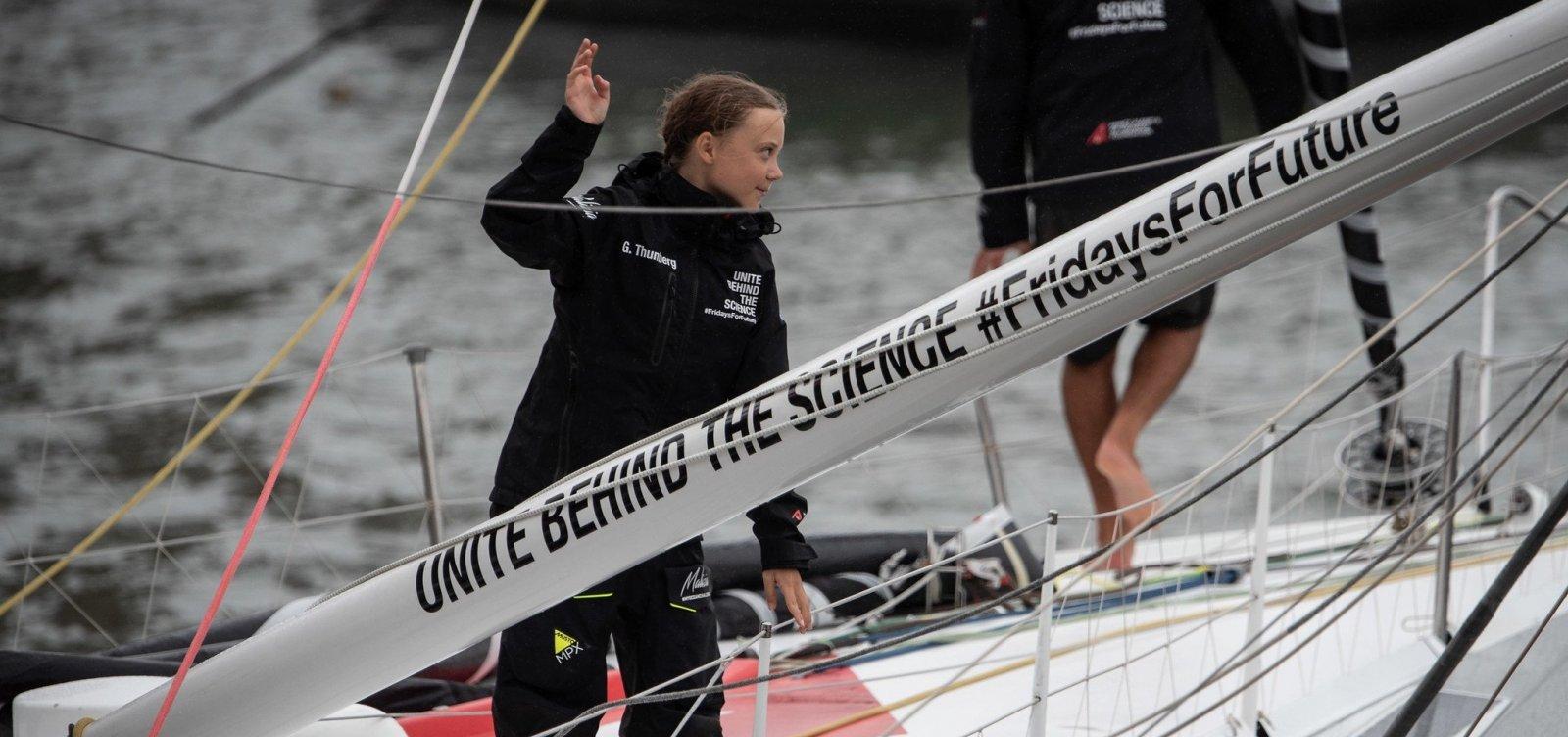 [Ativista Greta Thunberg ganha prêmio da Anistia Internacional]
