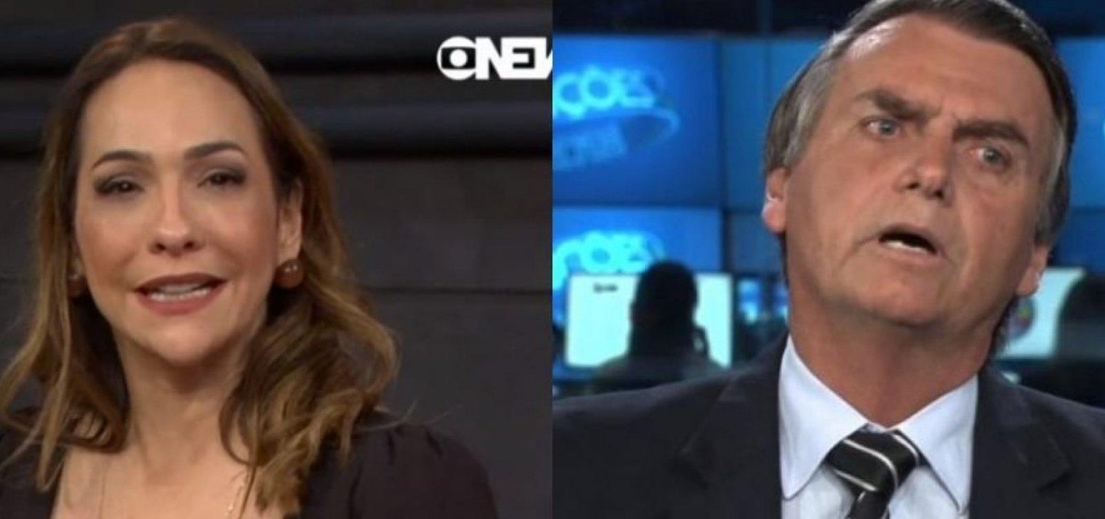 [Apresentadora da Globo News chama presidente de 'Bozonaro' ao vivo; Veja!]