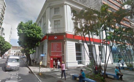 [Agencia bancária é arrombada no Comércio, em Salvador]