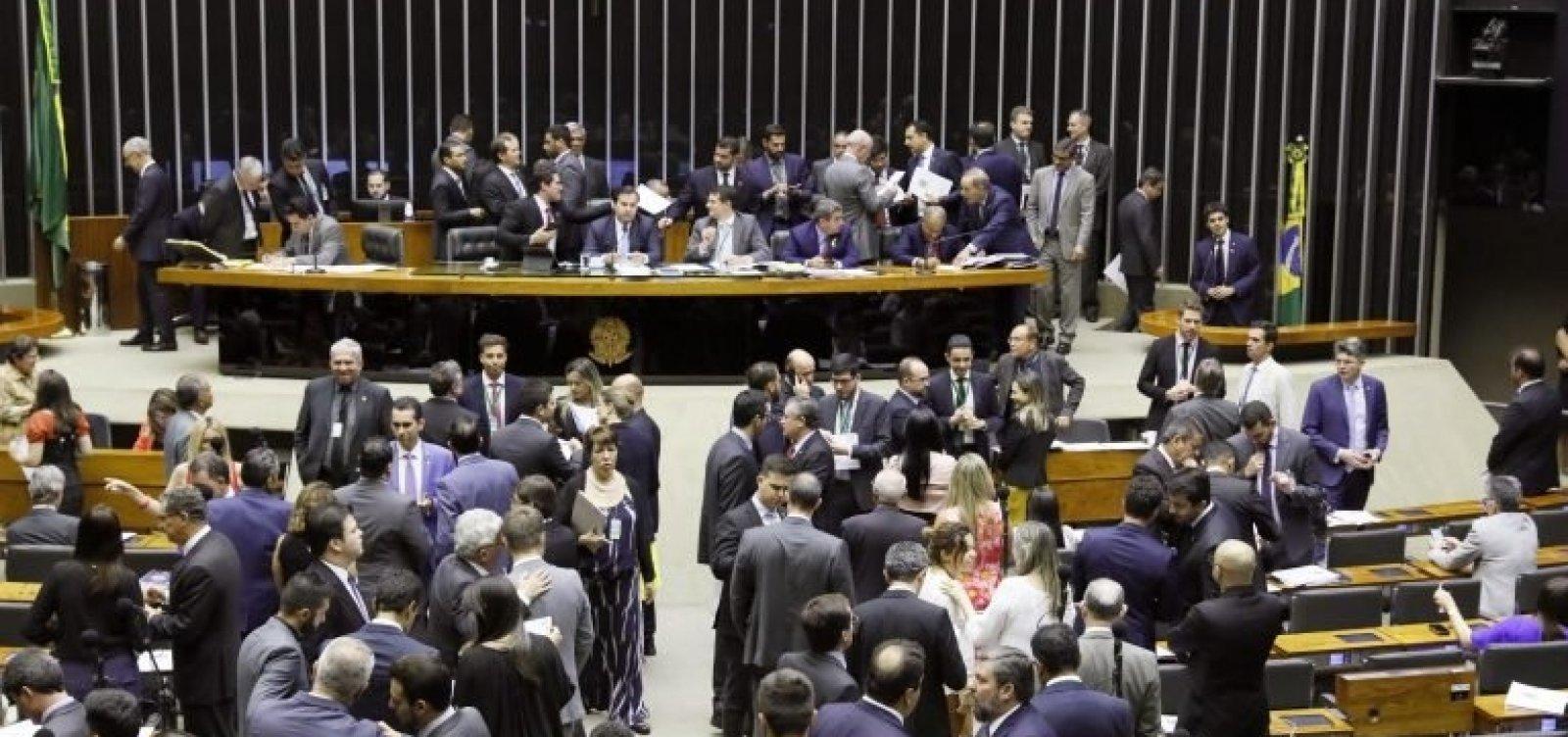 [Câmara aprova projeto que altera regras para partidos e eleições]