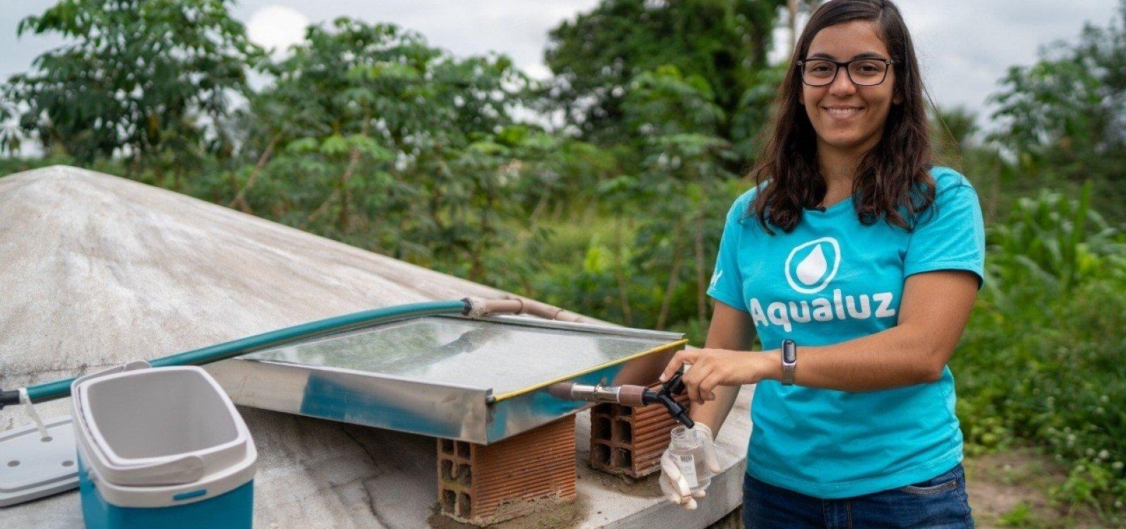 [Baiana ganha prêmio da ONU com tecnologia para filtrar água por meio da luz solar]