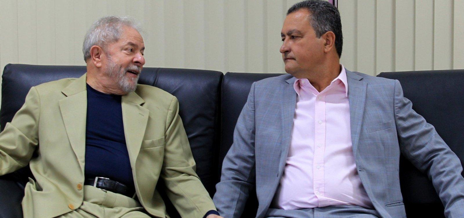 ['Ele tem que saber que o Brasil é diferente da Bahia', diz Lula sobre Rui]