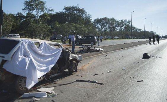 [Número de acidentes em rodovias federais no ano passado é o menor em série histórica]