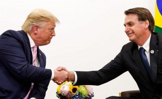 [Bolsonaro diz que irá jantar com Trump nos EUA]