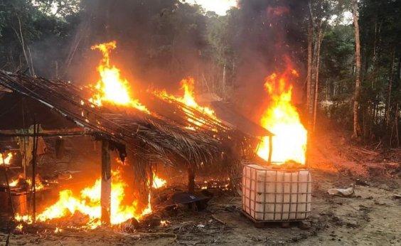 [Amazonas: Exército prende garimpeiros em unidades de conservação]