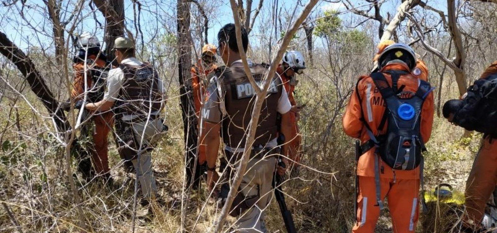 [Bombeiros são alvos de tiros durante combate a incêndio na Serra do Mimo]