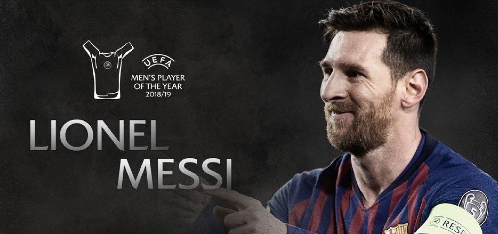 [Messi é eleito melhor do mundo pela sexta vez]