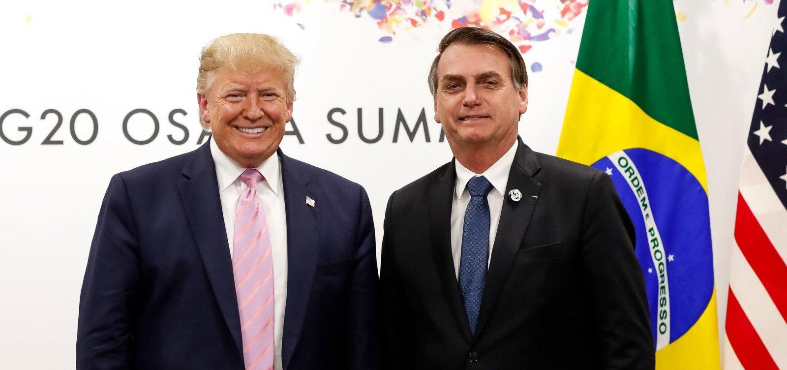 [Bolsonaro e Trump ficam no mesmo hotel por 2 horas, mas não se encontram]