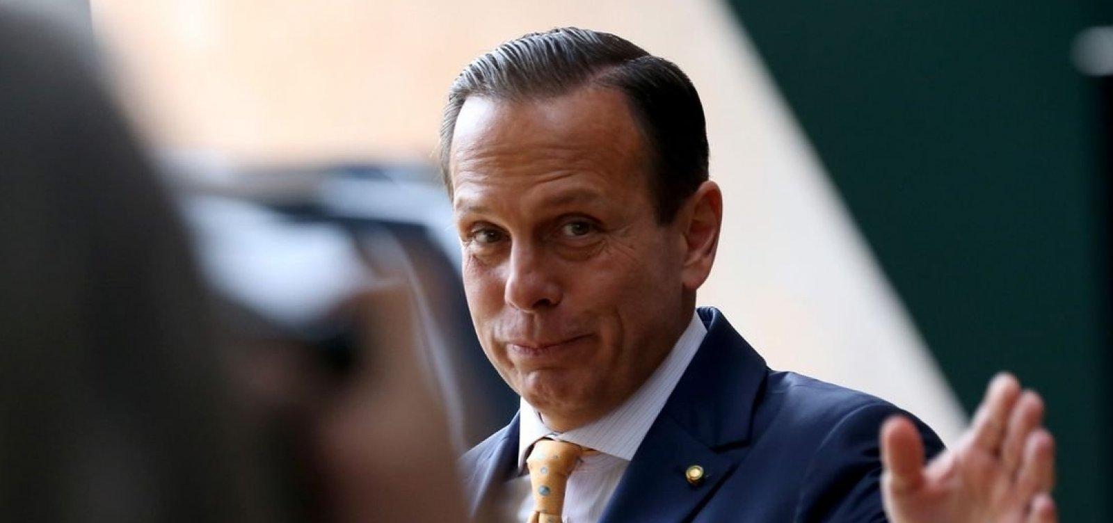 [Doria critica fala de Bolsonaro na ONU: 'Inadequada e inoportuna']