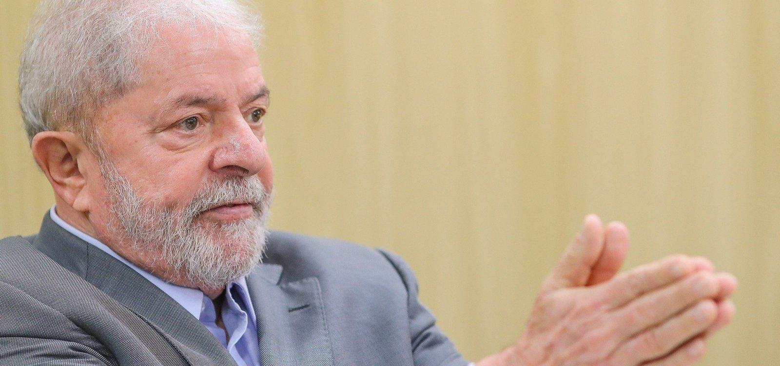 [MPF pede que Lula deixe a prisão e cumpra regime semiaberto]