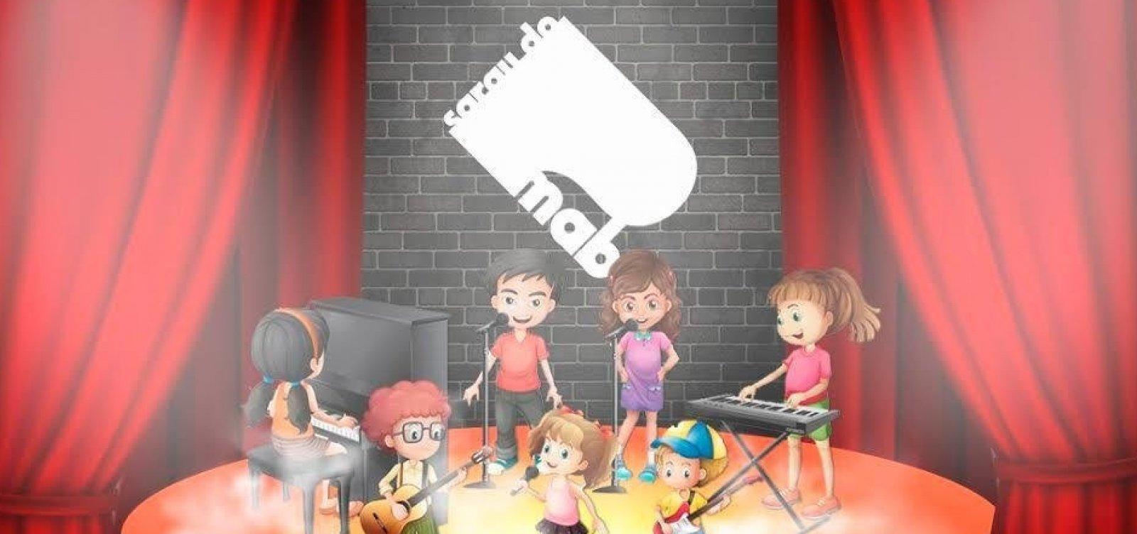 [Com ex-The Voice, Sarau do MAB realiza amanhã edição do Dia das Crianças]