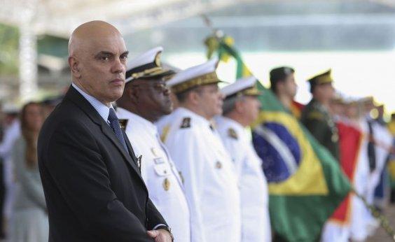 [Alexandre de Moraes defende inquérito sobre fake news]