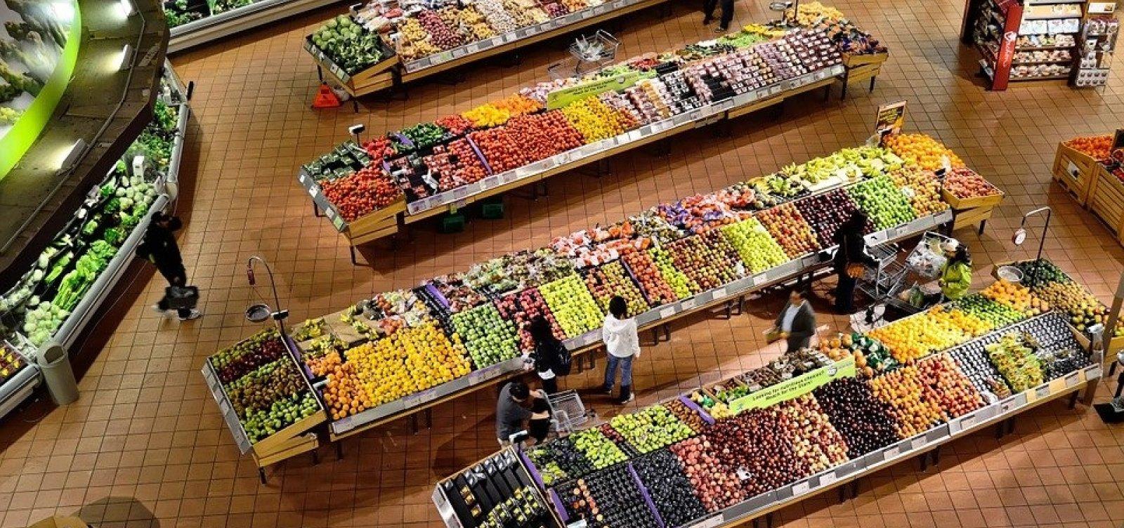 [Custo da cesta básica em setembro diminuiu em Salvador e outras 15 capitais]