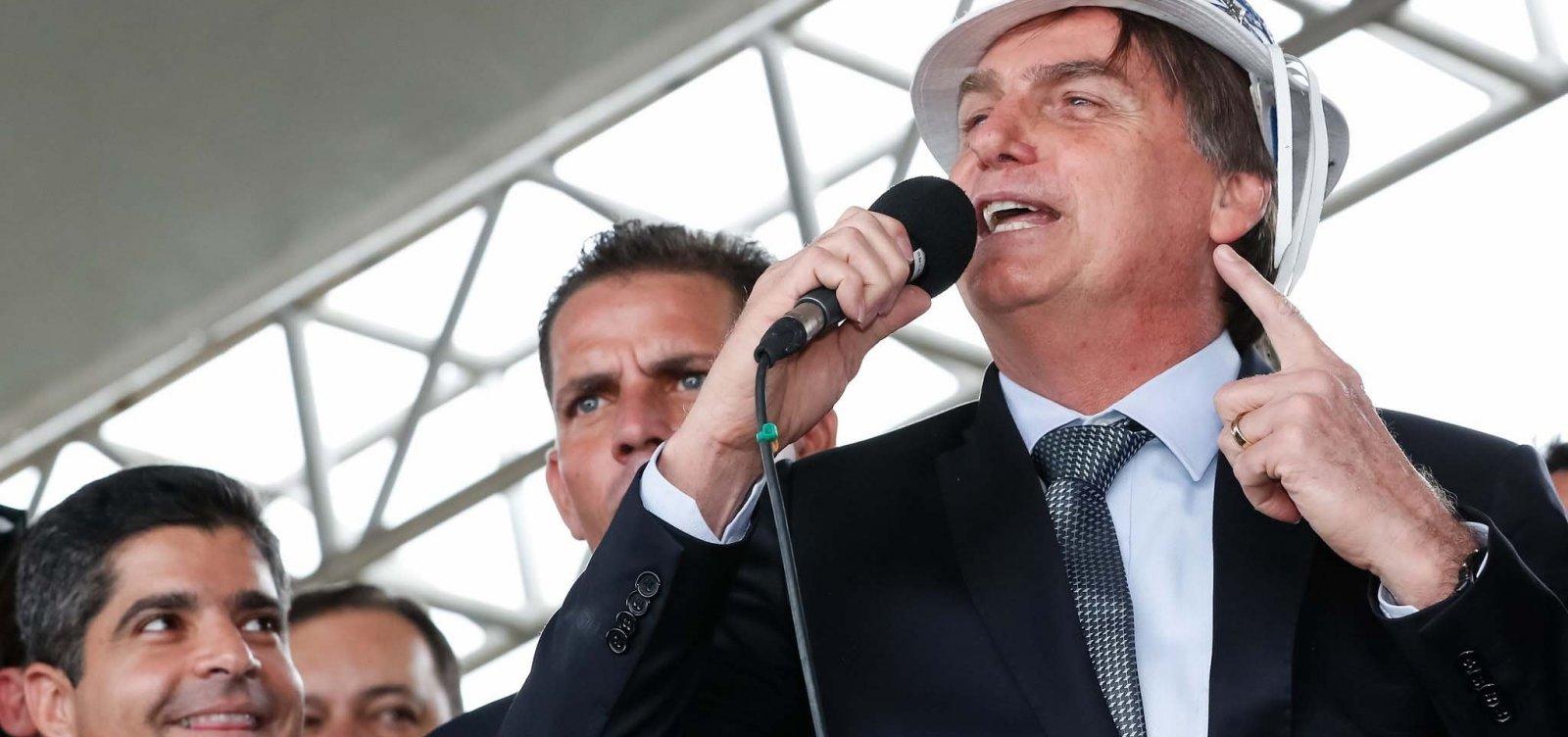 [Bolsonaro e equipe gastaram R$ 3,7 mi com viagens; visitas à BA custaram R$ 168,7 mil]