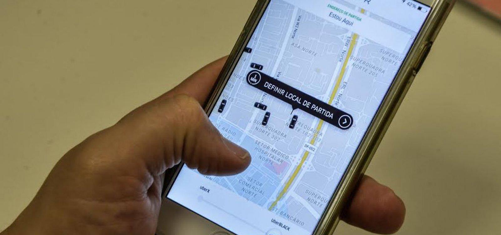 [Uber: viagens 'sem conversa' estarão disponíveis em novembro]