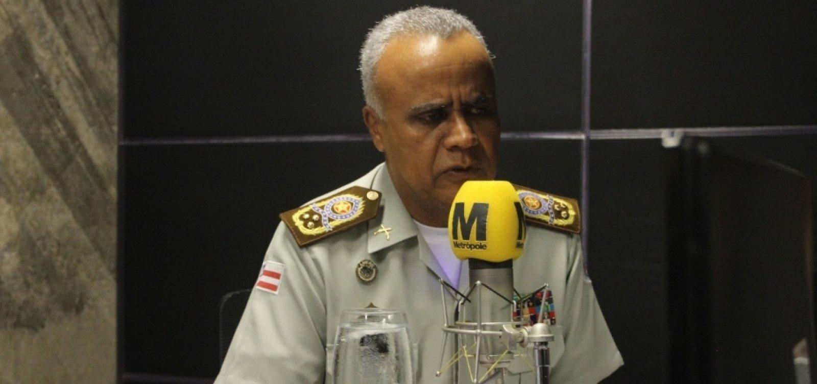 [Comandante da PM nega paralisação de policiais militares baianos]