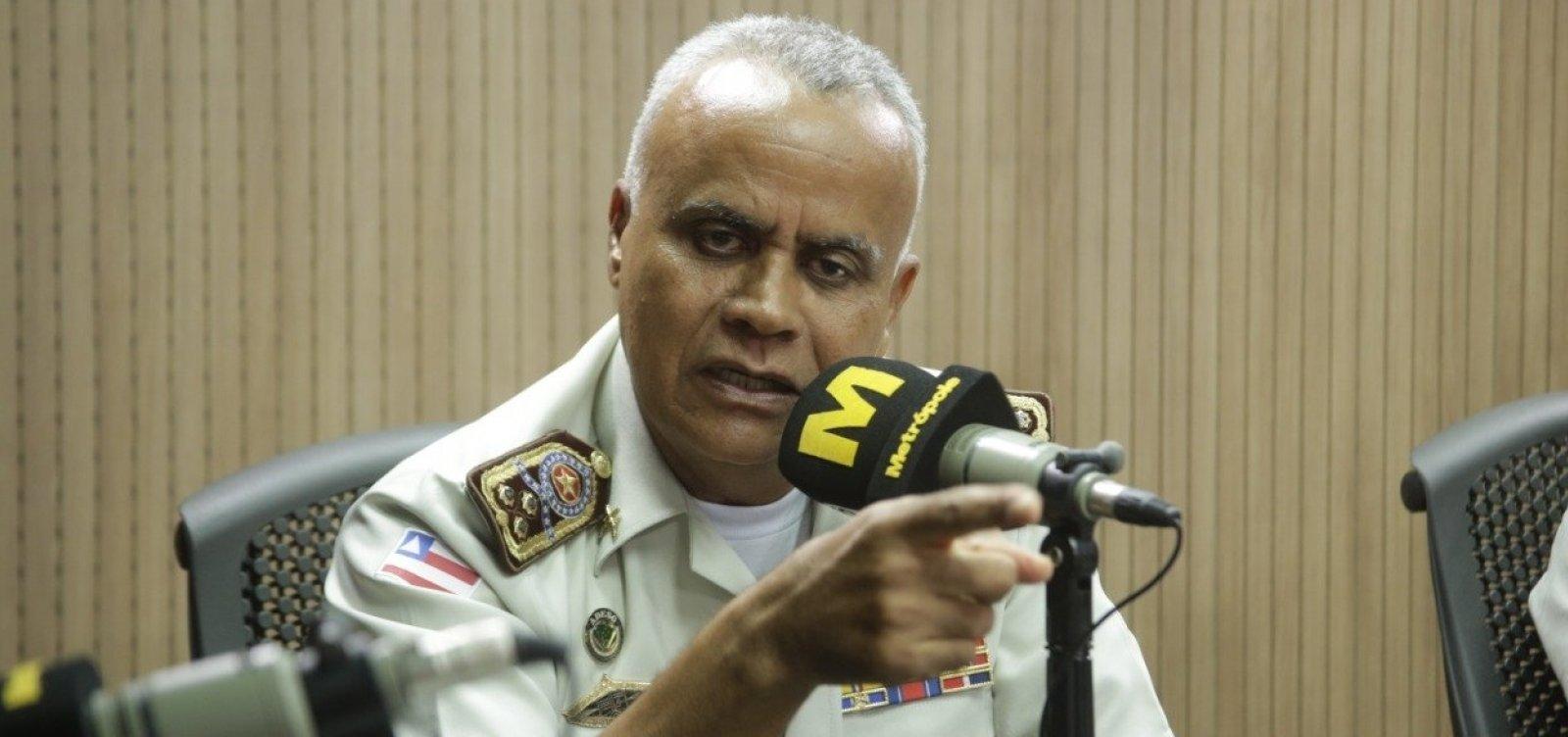 [Comandante-geral diz que não registrou falta de PMs e acusa Prisco de transmitir 'fake news']