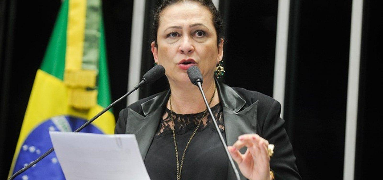 [Kátia Abreu pede remoção de Dallagnol da chefia da Lava Jato]