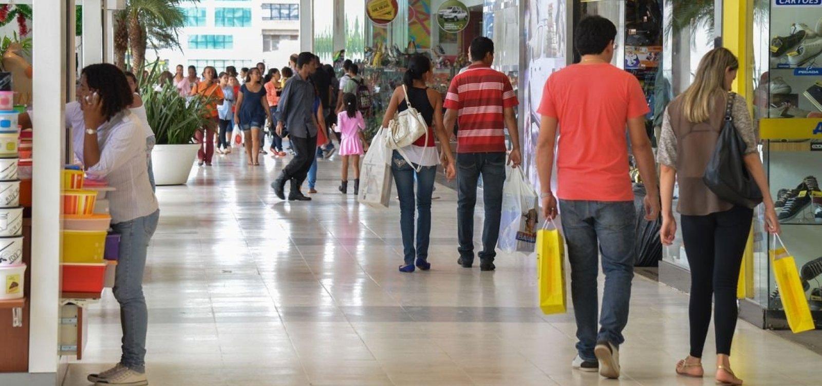 [Vendas do varejo sobem 0,1% de julho para agosto, diz IBGE]