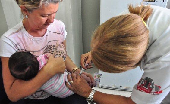 [Vacina pentavalente está disponível em 26 postos de Salvador]