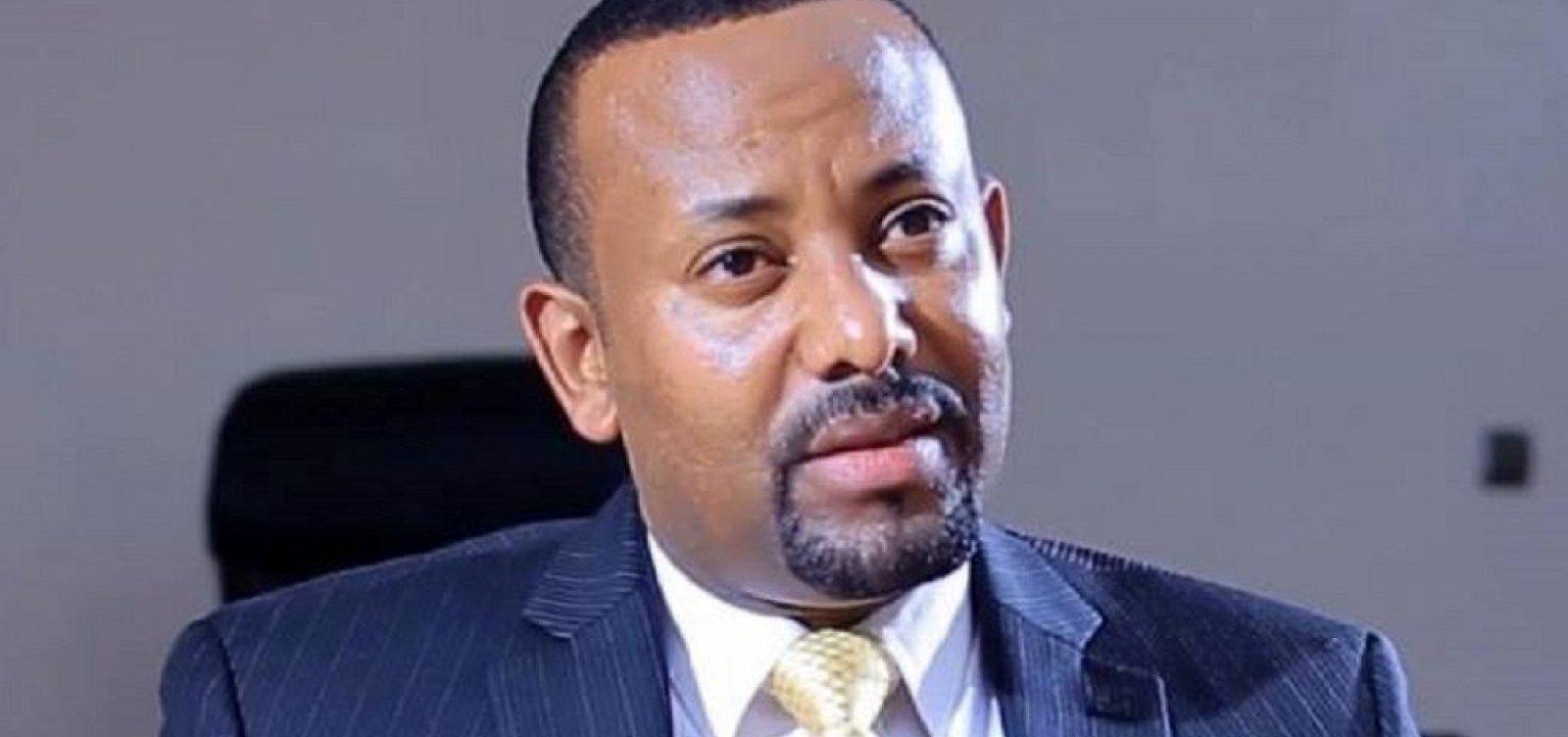 [Primeiro ministro da Etiópia recebe Prêmio Nobel da Paz]