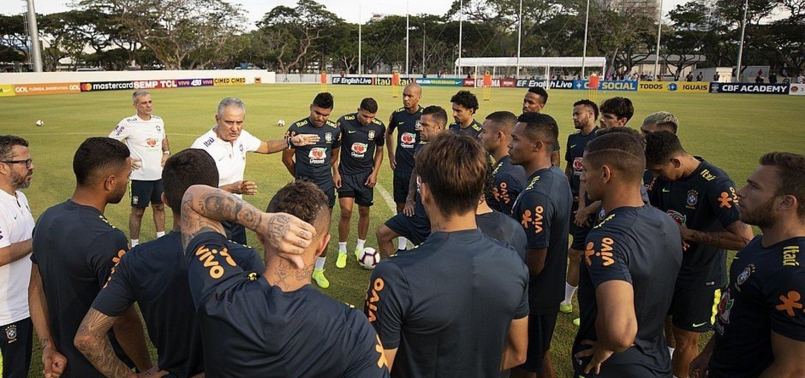 [Brasil busca vitória em amistoso contra Nigéria]