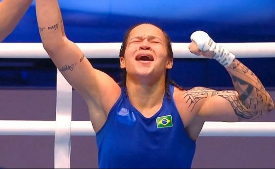 [Baiana Beatriz Ferreira conquista medalha de ouro no Mundial de Boxe]