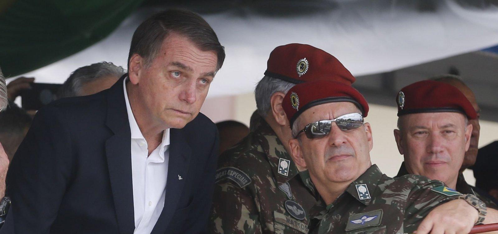 [Governo Bolsonaro: Presença de militares aumenta em 30 órgãos federais]