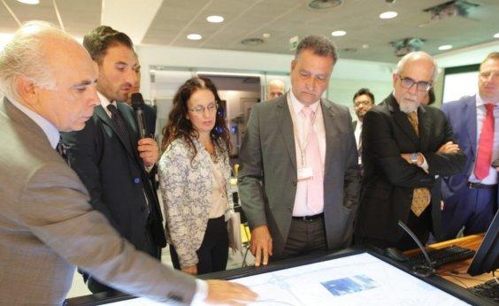 [Rui discute investimentos com quatro empresas italianas em Roma]