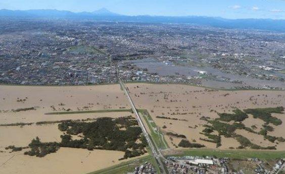 [Japão: tufão Hagibis alaga mais de 12 mil residências]