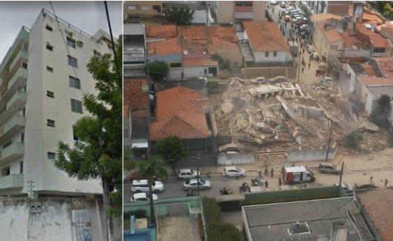 [Bombeiros voltam atrás e dizem que não há mortes em queda de prédio em Fortaleza]