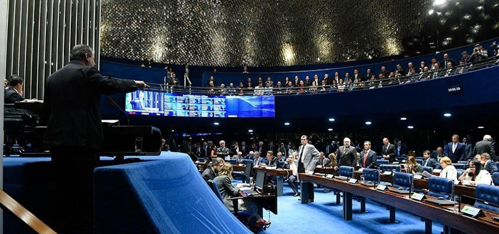 [Senado aprova divisão de recursos de megaleilão do petróleo com Estados e municípios]