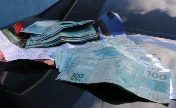 [Na Aspra, MP encontra munições e dinheiro em carro da AL-BA]