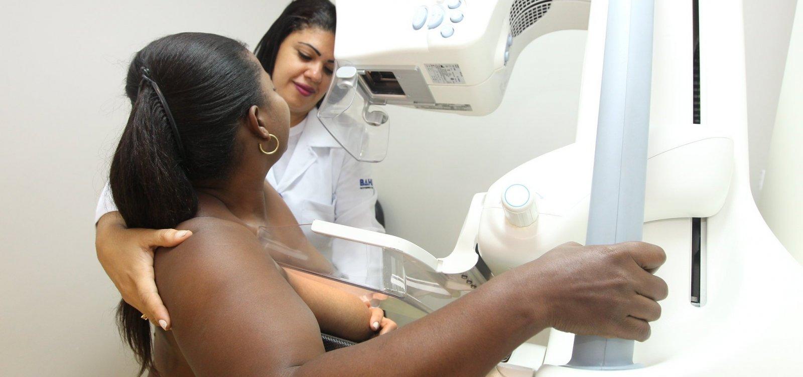 [Outubro Rosa: mutirão oferece 400 mamografias gratuitas em Salvador]